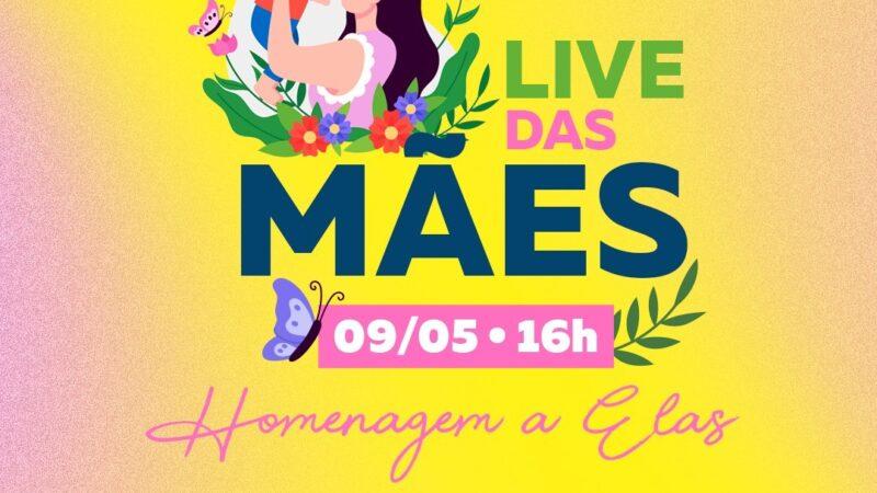 Prefeitura de Tibau realizará Live Dia das Mães com sorteio de prêmios