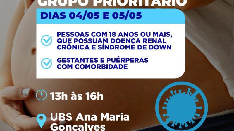 Prefeitura de Grossos inicia vacinação para grupo prioritário em Grossos
