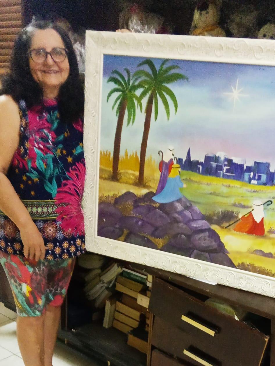 Aldenisa Costa: Descobrindo a arte e espantando a ansiedade