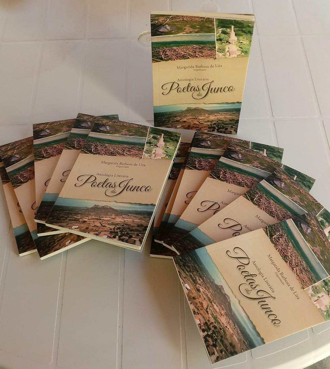 """""""Antologia Literária dos Poetas do Junco"""" será lançada no dia 19"""