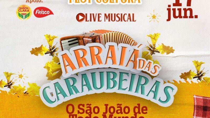 """Secretaria de Cultura prepara a primeira edição do """"Caraúbas Fest Cultura"""" com atrações online"""