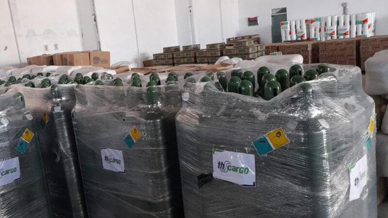 Petrobras doa 100 cilindros de oxigênio para o RN