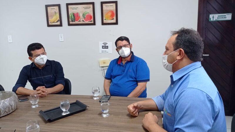 Prefeito Juninho Alves se reúne com presidente do Coex em Mossoró