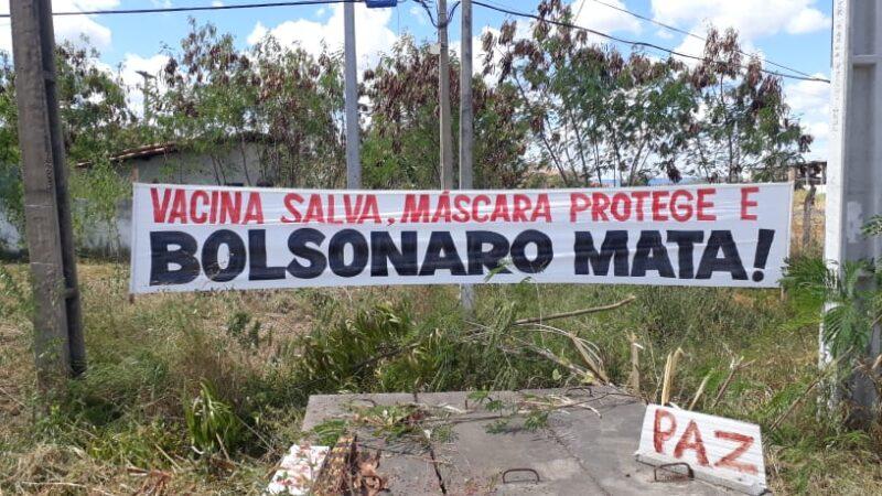 Protesto e revolta contra visita de Jair Bolsonaro ao RN
