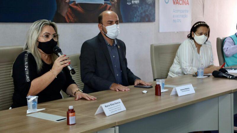 RN avança na vacinação de pessoas sem comorbidades e inclui lactantes