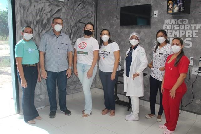 Secretaria de Saúde de Caraúbas inicia nesta segunda o Dia D vacinação na zona rural em combate a Covid-19