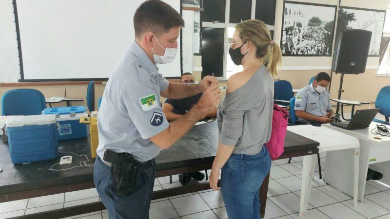 Governo do RN promove Dia D de vacinação contra a Covid para todas as forças de segurança pública