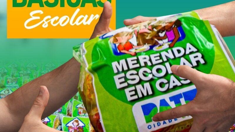 Governo de Patu fará entrega de cestas básicas para alunos da rede municipal de ensino