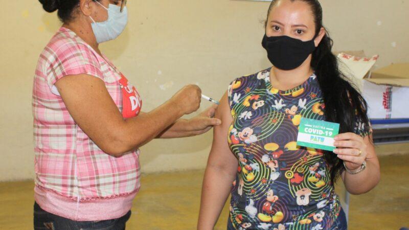 Secretaria de Saúde de Patu finaliza imunização dos profissionais da educação