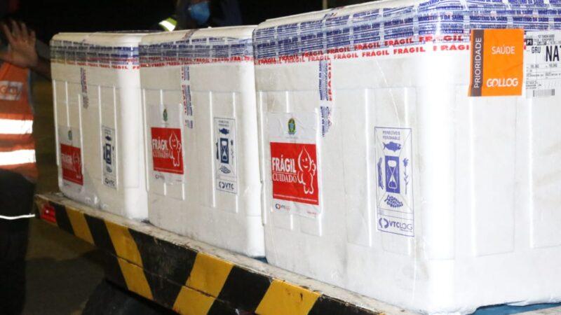 RN receberá mais de 140 mil vacinas contra Covid-19