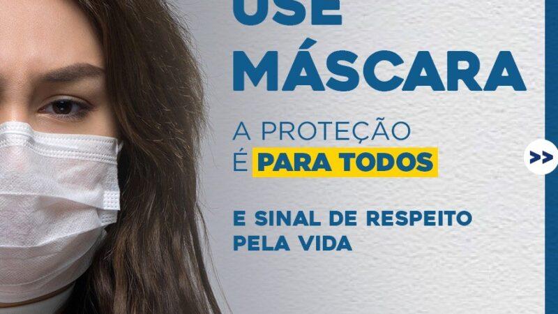 Secretaria de Saúde de Caraúbas intensifica campanha sobre continuidade do uso de máscaras