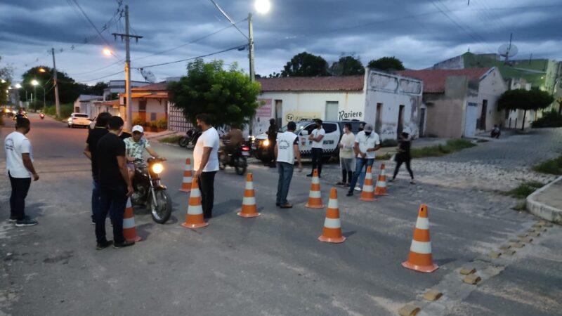 Vigilância Sanitária de Caraúbas desenvolve trabalho de combate a Covid-19