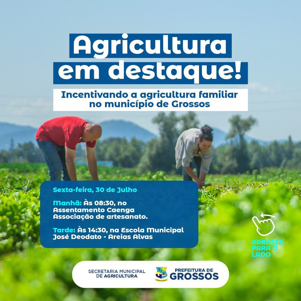 Prefeitura de Grossos promove 1˚ Encontro da Agricultura Familiar