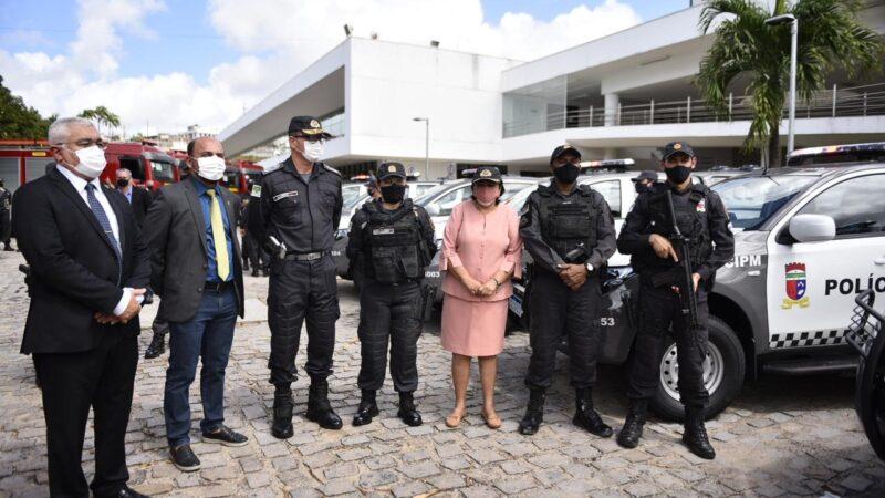 Sistema de segurança recebe mais R$ 15,4 milhões em veículos e equipamentos