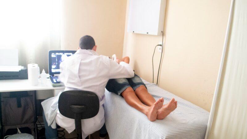 """Pra mim é excelente pois aqui nunca teve esses tipo de exame"""" diz dona de casa sobre ultrassonografias"""