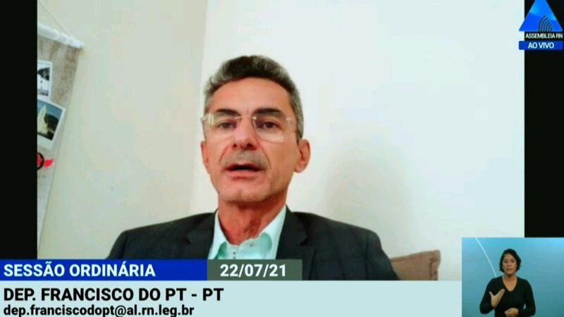 Francisco do PT repudia fake news sobre pagamento do funcionalismo estadual