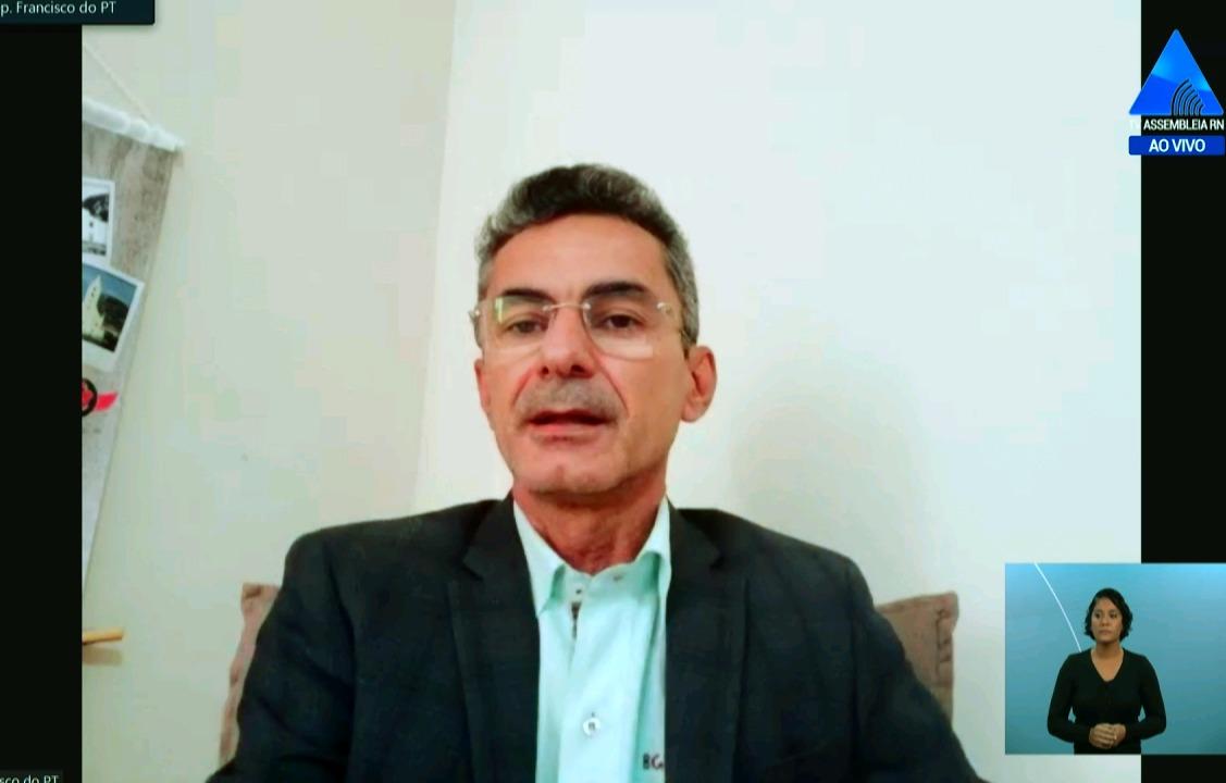 Deputado Francisco do PT comemora aprovação da LDO para orçamento de 2022