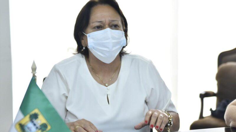 Governadora solicita ao ministro da Saúde calendário com data de entrega e quantidade de vacinas