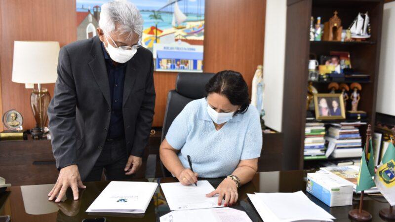 Governo assina ordem de serviço para gerenciamento das obras de Oiticica