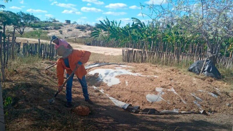 Secretaria de agricultura produz mais de 50 toneladas de silagem em Messias Targino