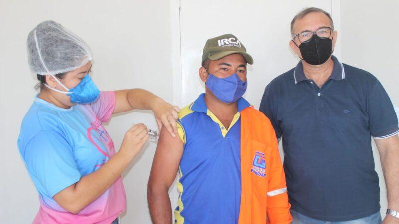 Vacinação contra Covid-19 para profissionais do volante tem continuidade hoje em Caraúbas