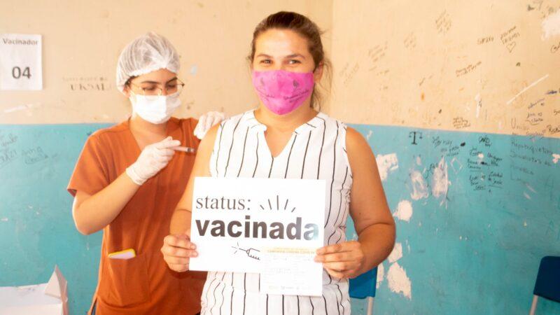 Covid-19: Grossos vacina 30 anos sem comorbidades e demais grupos prioritários na quinta, (29)