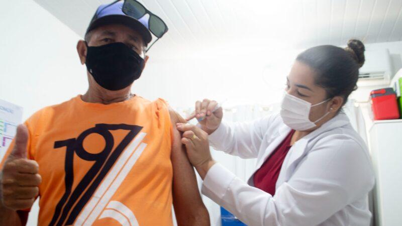Grossos vacina pessoas de 45 anos + contra covid-19 e demais grupos prioritários a partir de sexta (02)
