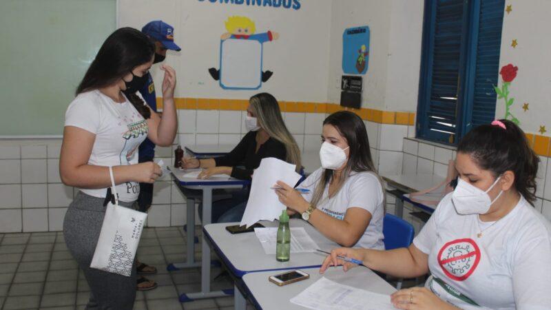 Secretaria de Saúde continua vacinação para os trabalhadores da linha de frente da indústria em Caraúbas