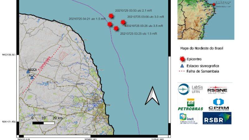 Tremor de terra atinge região litorânea do RN