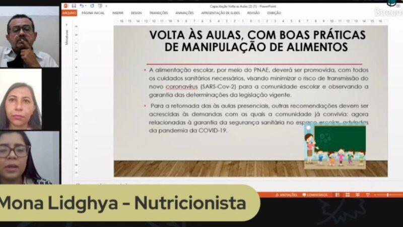 Secretaria de Educação de Caraúbas realiza capacitação para merendeiras e ASG