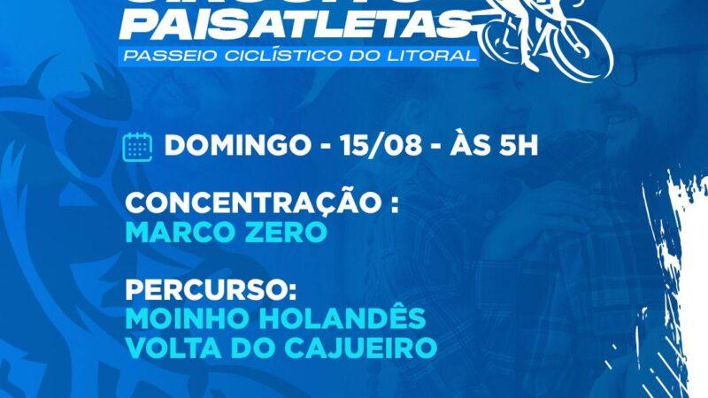 """Prefeitura de Grossos promove o """"1º Circuito Pais Atletas"""" neste domingo"""