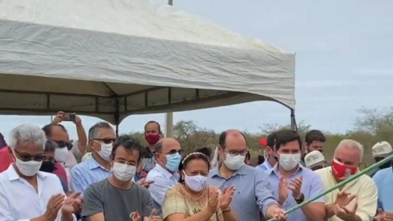 Governadora Fátima Bezerra entrega obras no valor de R$ 8,3 milhões no Vale do Açu