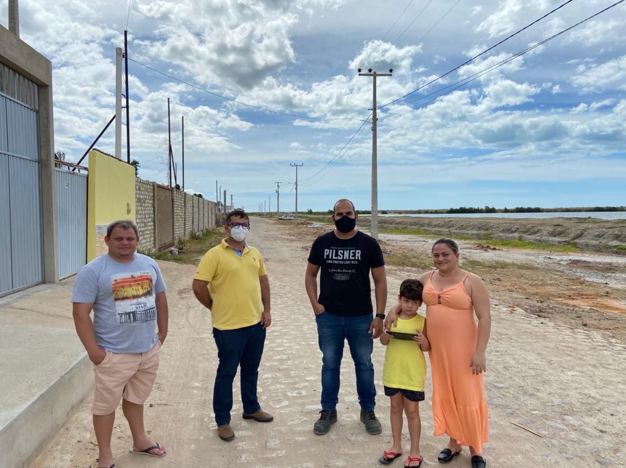 Teresinha Pereira, o Alto da Serra, Portelinha e Castanhas, terão ruas calçadas em Grossos