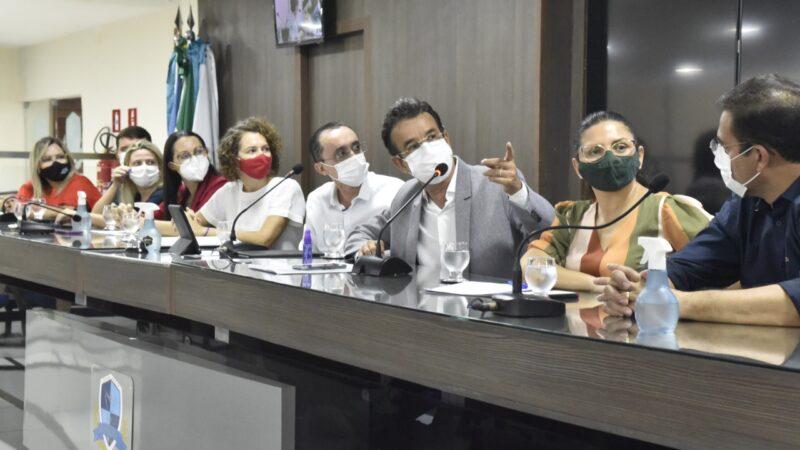 Hospital da Mulher: audiência na Câmara de Mossoró presta contas e discute modelo de gestão da unidade