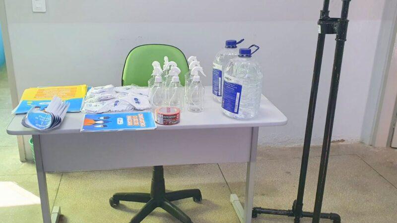 Escolas municipais de Patu são referência no cumprimento de protocolos de biossegurança