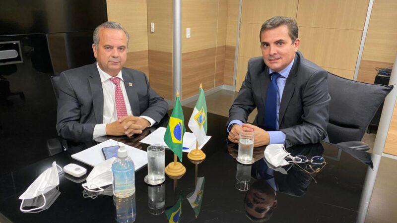 Prefeito se reúne com Ministro do Desenvolvimento Regional