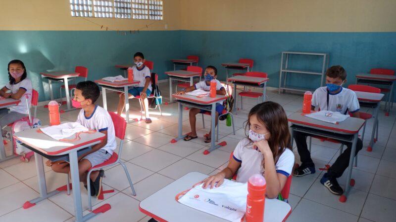 Volta às aulas em Serra do Mel recebe atenção especial da Prefeitura e Echoenergia