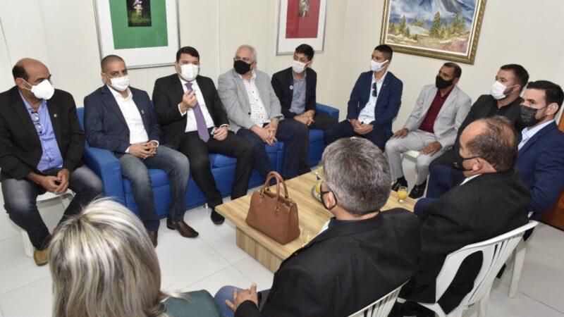 Vereadores de Parnamirim visitam Câmara de Mossoró