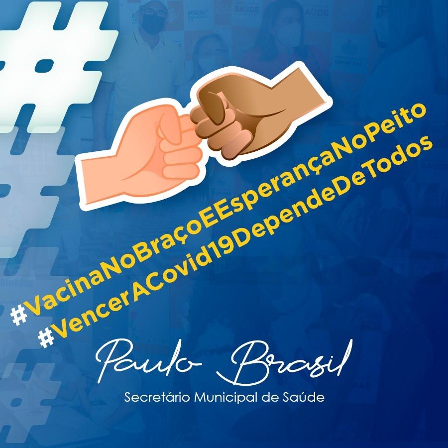 Prepare o braço! Secretaria de Saúde vacina nesta segunda-feira contra Covid-19 faixa etária de 35 anos ou mais em Caraúbas