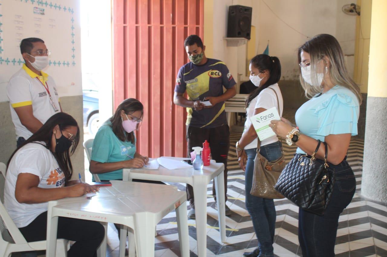 Secretaria de Saúde intensifica vacinação contra Covid-19 e vacina na sexta-feira população adulta sem comorbidades