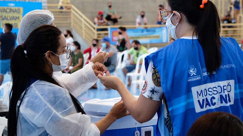 Covid-19: Em uma semana Mossoró aumenta em 7% número de pessoas que deixaram de tomar segunda dose da vacina