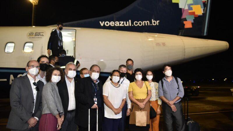 Azul Linhas Áreas realiza voo inaugural da rota Mossoró/Natal