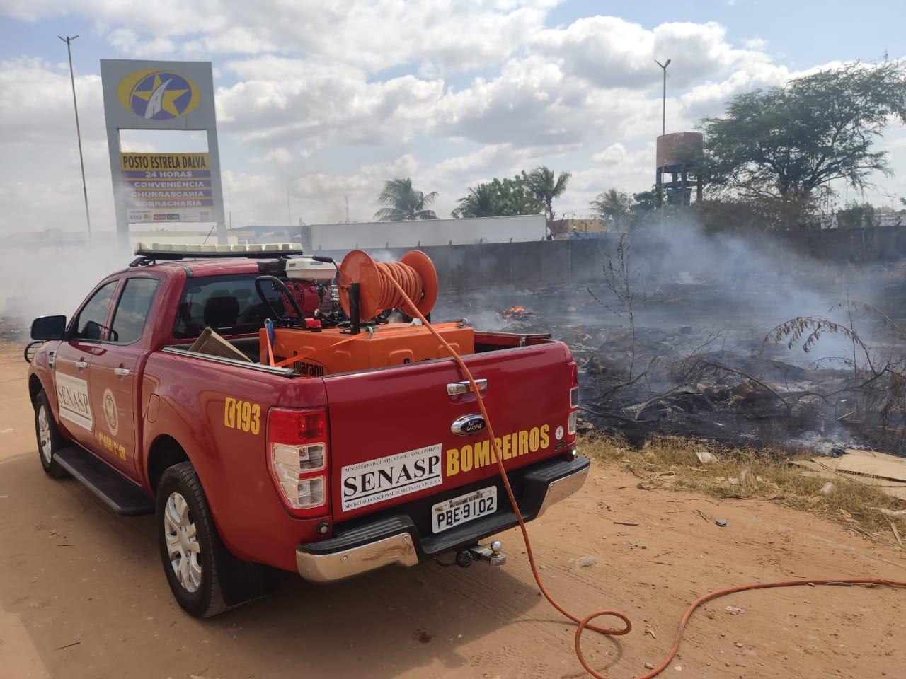 Corpo de Bombeiros registra cerca de 13 denúncias diárias de incêndios florestais no RN
