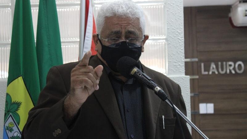 Vereador de Caraúbas Chiquito Praxedes solicita retorno de urnas eleitorais na comunidade de Mirandas