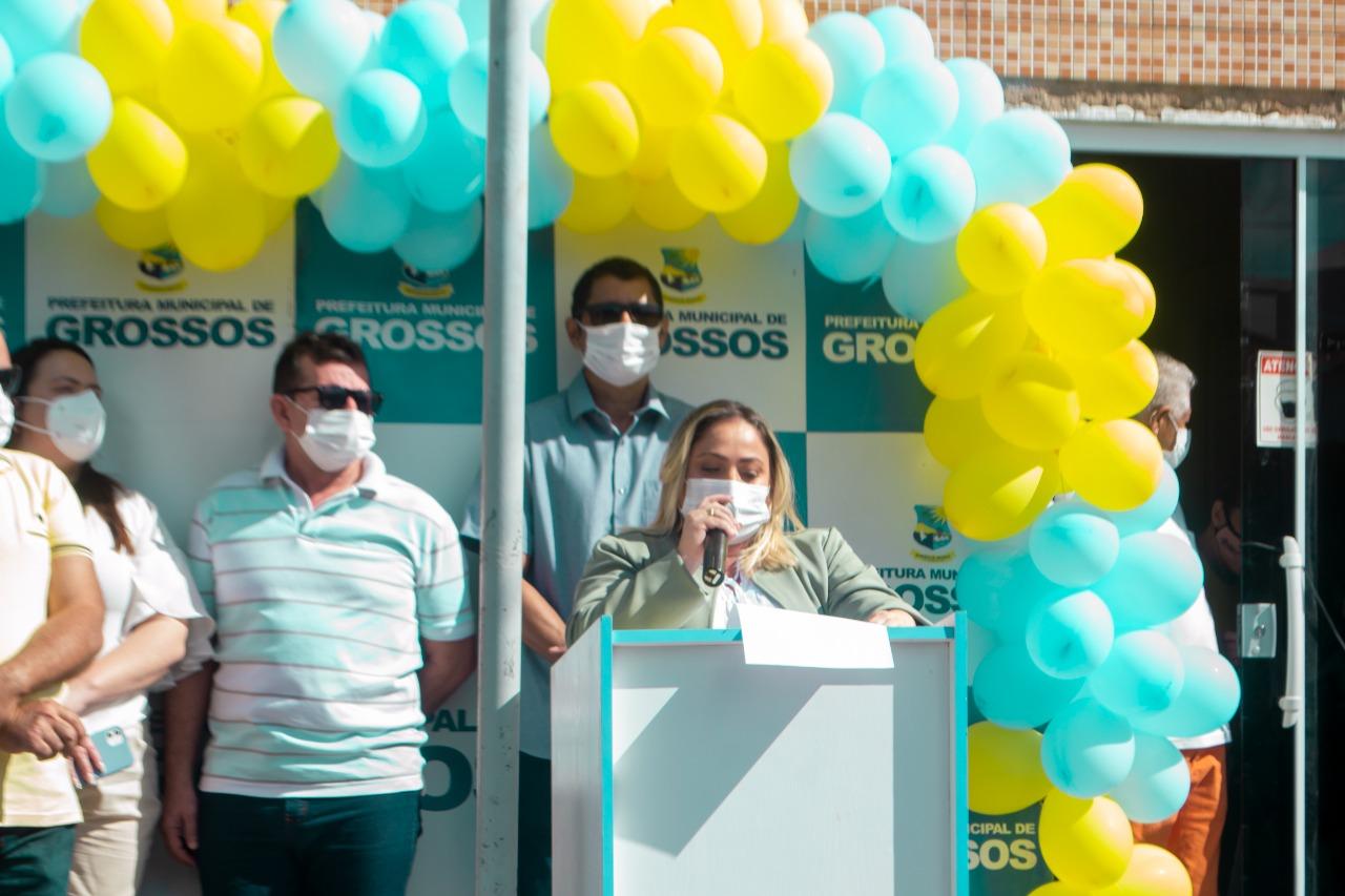 Prefeitura de Grossos realiza ato cívico para comemorar independência do Brasil