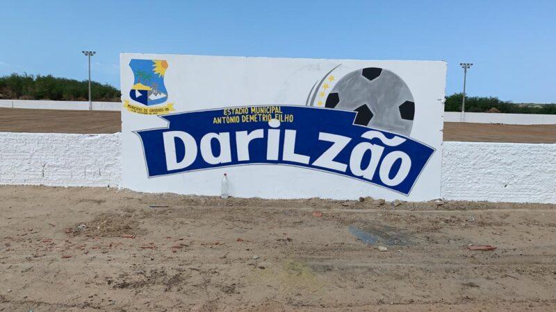 Após reforma, Estádio Darlizão sedia campeonato de futebol no Córrego