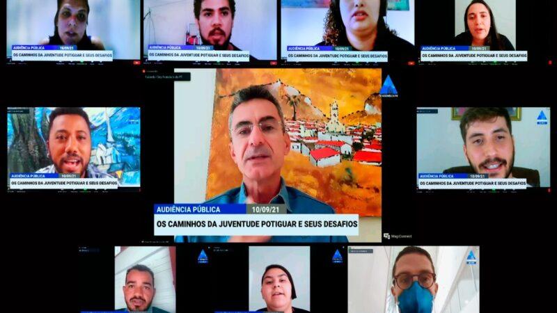 Audiência pública promovida pelo deputado Francisco do PT aponta caminhos para ações em defesa da juventude