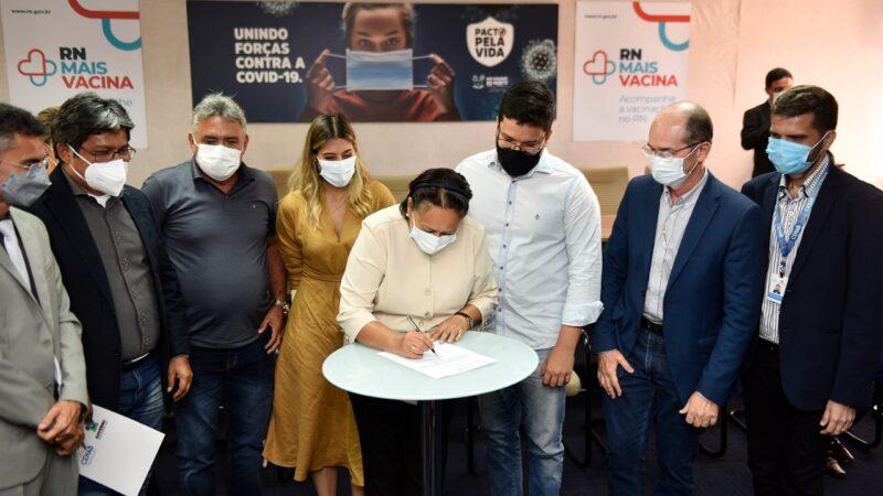 Governo assina ordem de serviço e garante mais 141 moradias em 10 municípios do RN