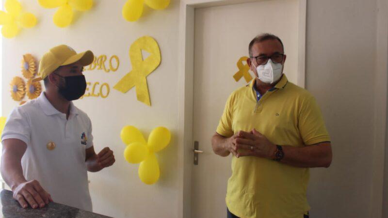 Secretaria de Saúde realiza palestra dentro da programação da Campanha Setembro Amarelo