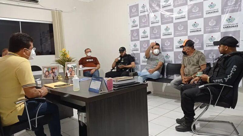 Gestão municipal reúne autoridades para discutir projeto de incentivo a cajucultura em Caraúbas